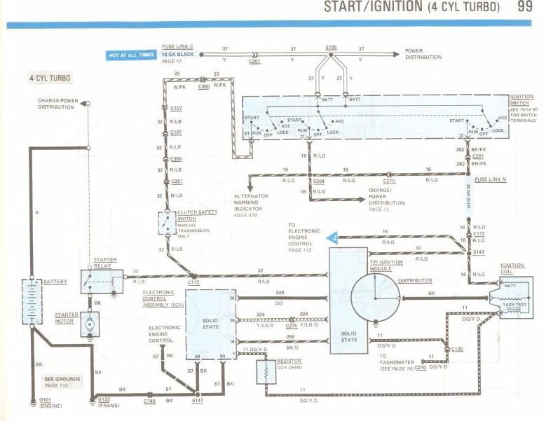 1986 Stock Mercury Capri Tach After 2 3t Swap Help